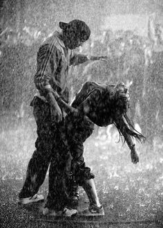 dancing in the rain.....