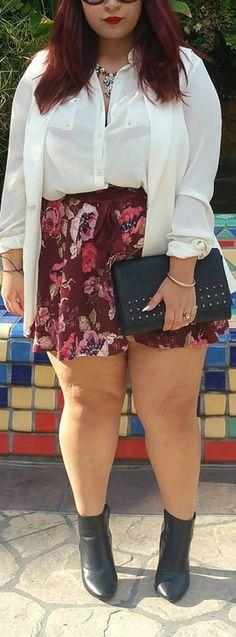 Curvy Fashion Inspiration for Women // #plussize #fashion #outfits