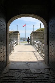 At the Gate to the Citadel, Halifax, Nova Scotia