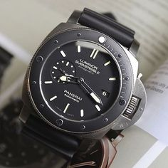 Panerai | Luminor 389  Picture belonging to @bharmon417 #watchuponatime