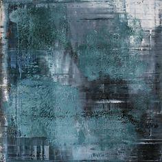 Koen Lybaert; abstract N° 501 - oil on canvas [80 x 80 x 2] / 2013