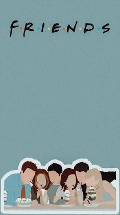 Friends Tv Quotes, Friends Scenes, Friends Episodes, Friends Poster, Friends Cast, Friends Moments, Friends Tv Show, I Love My Friends, Cartoon Wallpaper Iphone