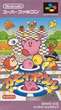 Kirby´s Dream Course - Super Famicom #snes #nintendo #japan #cover #art