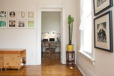 Paint colors that match this Apartment Therapy photo: SW 7675 Sealskin, SW 6090 Java, SW 6362 Tigereye, SW 7037 Balanced Beige, SW 7006 Extra White