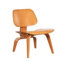 Charles Eames Lounge Chair - Charles Ray Eames Lcw Ash Evans Products 1947 American Mid-Century Modern Rubber, Plywood