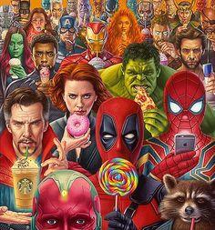 Marvel Avengers Superheros nuit lumière Affichage DEL plaque IRONMAN SPIDERMAN HULK