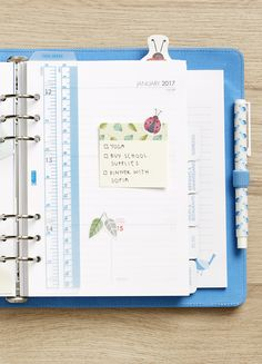 Decorate and organise your Sweet Time Planner with these ideas.