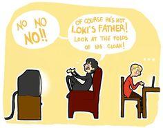 Sherlock watches Thor