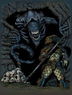 Alien vs Predator by patoberroeta.deviantart.com on @deviantART