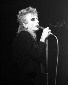 Virgin Prunes, February 1983. Photo by Philippe Carly.