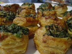 Escargots and Spinach in Puff Pastry