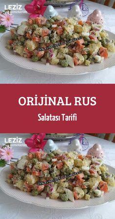 Salad Recipes, Healthy Recipes, Turkish Kitchen, Food Blogs, Light Recipes, Potato Salad, Pasta, Salads, Appetizers