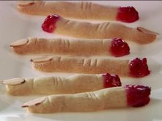 Get this all-star, easy-to-follow Witch Finger Cookies recipe from Giada De Laurentiis