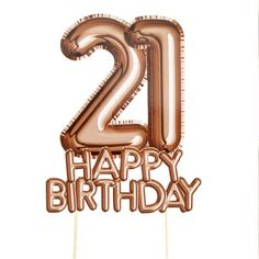 Glitz & Glamour Birthday Cake Topper – – Birthday Decoration & Accessories (each) - Birthday Cake Flower Ideen 21st Birthday Cake Toppers, 21st Birthday Decorations, 21st Birthday Cards, Happy 21st Birthday, Happy Birthday Balloons, Birthday Images, Birthday Celebration, 21st Cake, Birthday Greetings