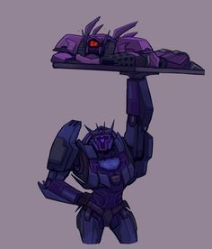 "yes-i-write-fanfiction: ""parallelpie: "" ᕙ( *  ̄へ ̄ * )ᕗ "" The reason TFP Soundwave is so quiet is because he's mourning the loss of his thick thighs "" Transformers Memes, Transformers Decepticons, Sound Waves, Concept Art, Fan Art, Cartoon, Artwork, Optimus Prime, Lost Weight"