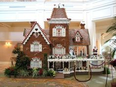 Really Big Gingerbread House