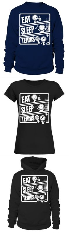 The shirt is made of cotton and polyester, Printing with modern technology to make products more durable in time. Tennis ball racket ace sports team player mom dad tenis t shirt Tennis Legends, Tennis Shirts, Sport Tennis, Team T Shirts, Team Player, Tennis Players, Eat Sleep, Mom And Dad, Shirt Designs