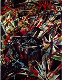 The war, Otto Dix 1891-1969. German Expressionist painter noted for his harsh and realistic depictions of the Weimar society and the brutality of war.
