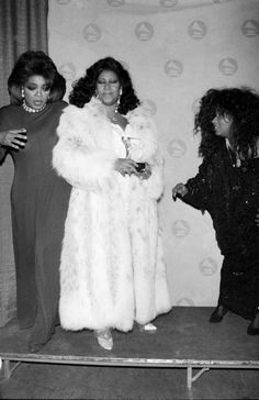 Oprah, Aretha & Chaka (1990)