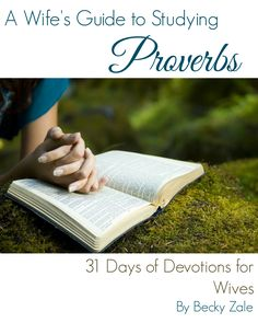 A Wife's Guide to Studying Proverbs: 31 Days of Devotions for Wives