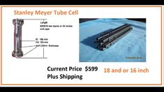 9 Tube Cell Water Fuel Cell Stanley A Meyer Energy Storage, Preserve, Tube, Join, Water, Chow Chow, Water Water, Preserves, Aqua