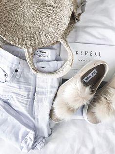 Tiffany Jais Houston fashion and style blogger of Flaunt and Center   One teaspoon shorts, pom pom sneaks,