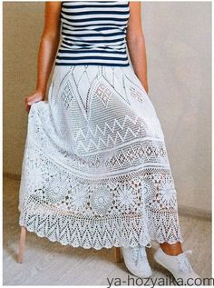 Crochet Short Dresses, Prom Dresses Long Pink, Crochet Skirts, Formal Dresses For Teens, Backless Prom Dresses, Crochet Clothes, Beading Patterns Free, Lace Cardigan, Crochet Videos