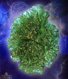 Perfect Moldavite of Museum Caliber from Besednice, Czech Republic~ 42.5 carats | Arkadian Collection