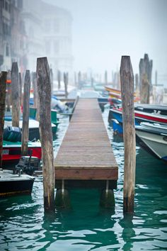 beautiful images of Venice in the fog