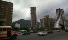 Bogota, _Construcción de la Torre Colpatria en 1978 Big Ben, Building, Travel, Bogota Colombia, Towers, Transportation, Souvenirs, Cities, Architecture