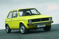 VW Golf I 1974. Most succesful design of Giugaro