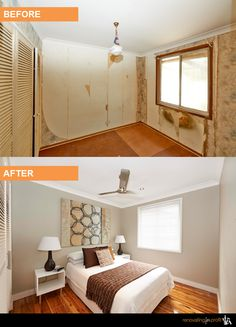 Bedroom Renovation Before And After Inspiration Renovated Lounge Room Afterfrom Hote Decorating