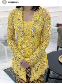 Kebaya Hijab, Kebaya Brokat, Batik Kebaya, Kebaya Dress, Dress Pesta, Batik Dress, Kebaya Kutu Baru Modern, Modern Kebaya, Dress Brukat