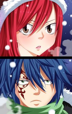 Fairy tail// Jellal and Erza Erza Y Jellal, Fairy Tail Erza Scarlet, Fairy Tail Natsu And Lucy, Zeref, Fairy Tail Anime, Fairytail, Nalu, Read Fairy Tail, Fairy Tail Gray