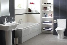 White in Bathroom Decoration
