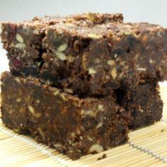 Chocolate muesli bars (gluten free) GI