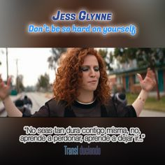 Canción traducida: #JessGlynne - #DontBeSoHardOnYourself | #ICryWhenILaugh Encuéntrala completa en: http://transl-duciendo.blogspot.com.au/2015/08/jess-glynne-dont-be-so-hard-on-yourself.html