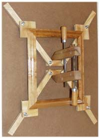 Self-Squaring Picture Frame Jig