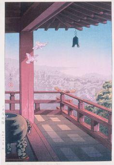 Japanese Art Prints, Japanese Artwork, Japanese Painting, Chinese Painting, Japanese Landscape, Landscape Art, Art Occidental, Japanese Woodcut, Japon Illustration