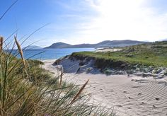 Having a picnic at Vatersay, Isle of Barra, Outer Hebrides.