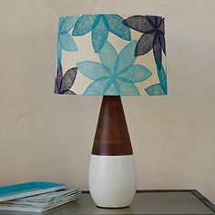Meyer Table Lamp Base. The company Store. Base $129. Shade $99 Blue or Red