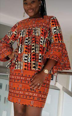 Short African Dresses, African Blouses, Latest African Fashion Dresses, African Print Dresses, African Print Fashion, African Wear, African Attire, Nigerian Dress, Mode Kimono