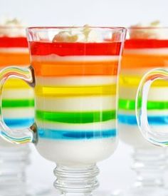 rainbow jello recipe | onelittleproject.com