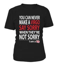 Virgo not sorry