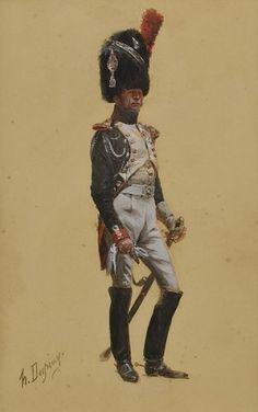 Les cavaliers de la Grande Armée :: Illustrations Grenadier à cheval