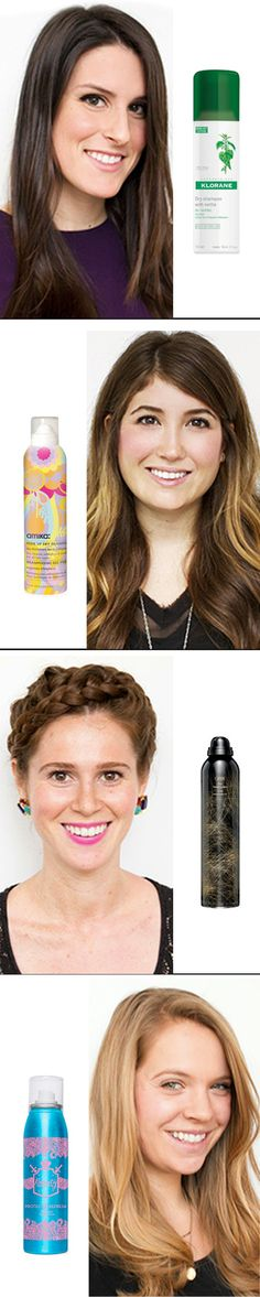 Exactly how often you should dry shampoo your hair.