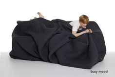 Lascocks: U201c Capaow: U201c Ohyarnit: U201c Weirdnessrunstheworld: U201c U201cThe Moody Couchu201d  An Actual Pillow Nest Dog Bed For Humans.