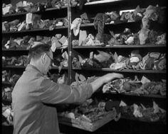 Wondering whatever happened to that scarf you left on the Tube? Take a look at the Baker St London Transport Office collection of Lost Property - 1950 film.