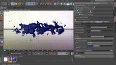 "C4D Tutorial ""Liquid Shape Morph"" by Mustapha FERSAOUI 變形字 https://www.youtube.com/watch?v=txADaab-Z1U"