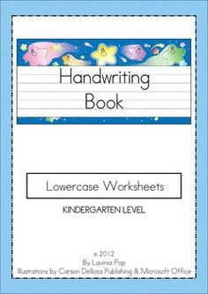 Handwriting is an area where there is always room for improvement - especially when the students are kindergarteners! I have developed these worksh...
